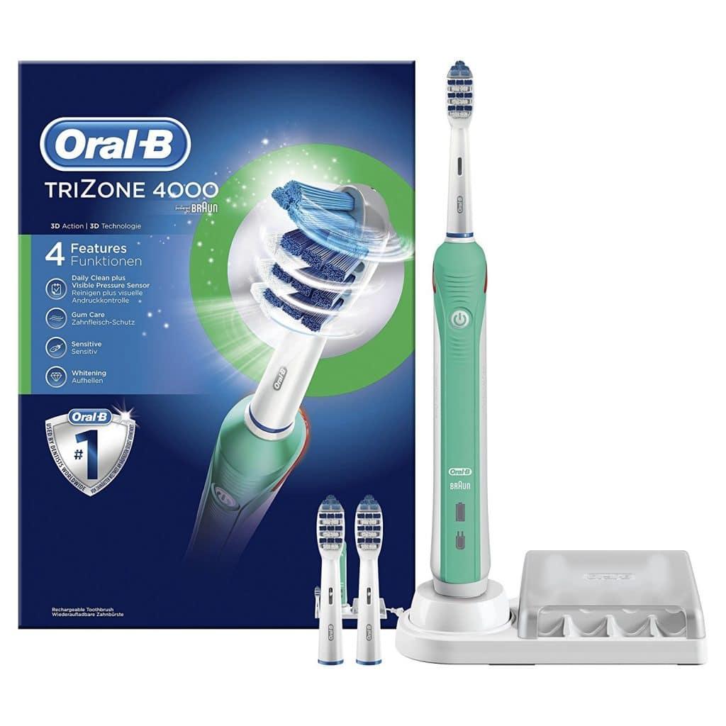 Oral -B 4000 Brosse à Dents Electrique Rechargeable