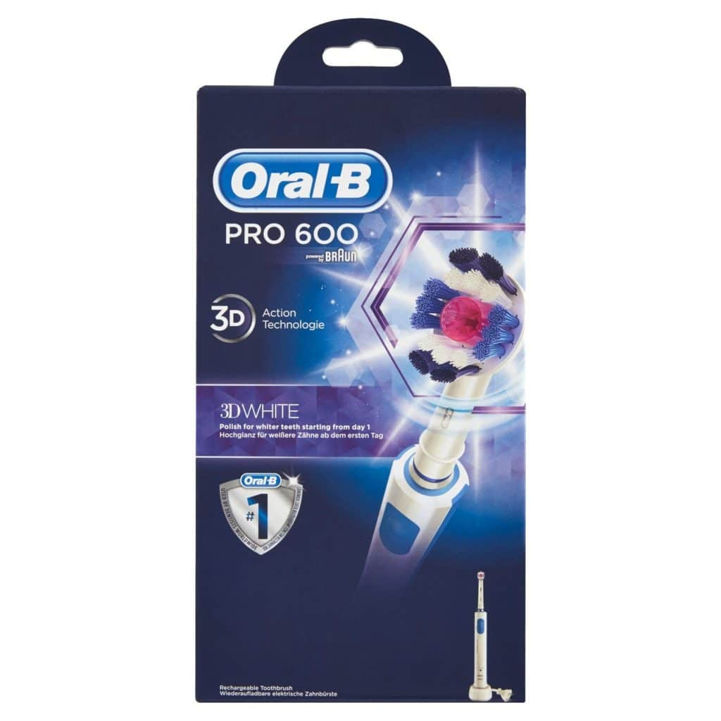 Oral-B Pro 600 White & Clean