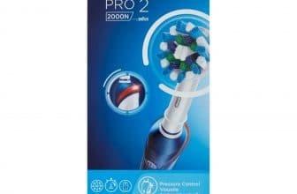 La brosse à dents Oral B Pro 2 2000N : un modèle efficace