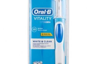 Que vous réserve la brosse Oral B Vitality White Plus Clean ?